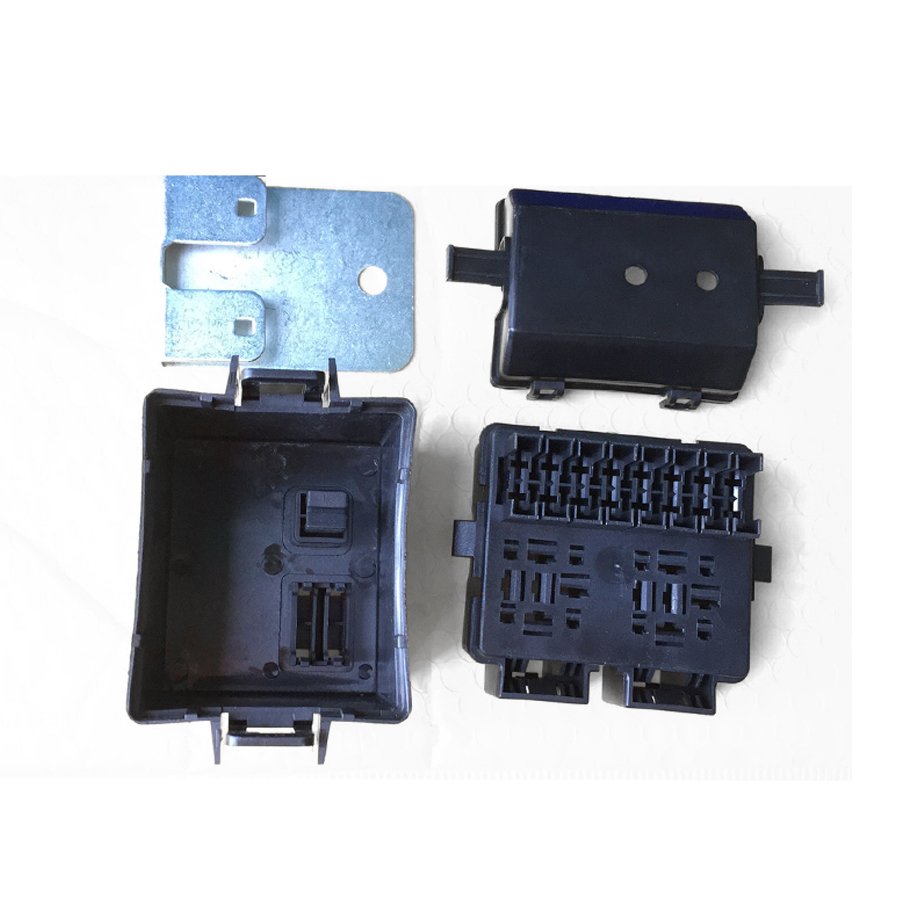 Automotive Fuse Box With Relay Wiring Library Motorcycle 12v 2 Way Circuit Blade Car Boat Auto Holder Kits 8