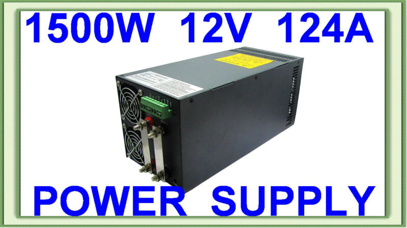 Parallel function AC DC SCN-1500-12V single output switching power supply approved CE RoHS ce rohs high power scn 1500 24v ac dc single output switching power supply with parallel function