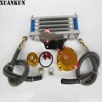 XUANKUN GN GZ GSX EN GS Motorcycle Modified Oil Cooler Oil Radiator CNC Oil Cooler