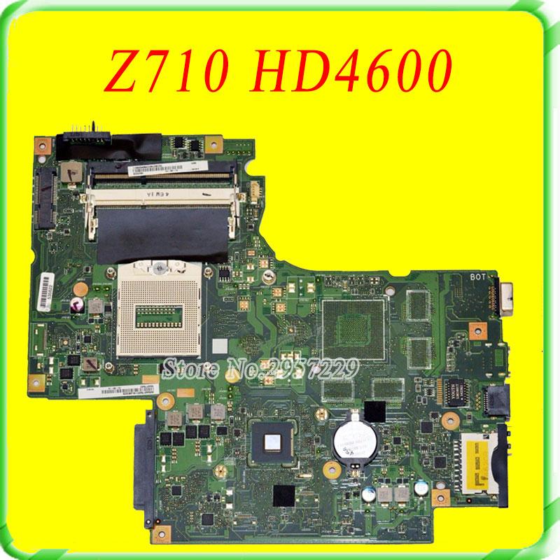 For Lenovo IdeaPad G710 Z710 Motherboard DUMBO2 REV2.1 Mainboard HD 4600 intergated 100% Work 沙驰(satchi)男士自动扣皮带腰带 时尚商务青年皮带裤带男 en416494 041h黑色