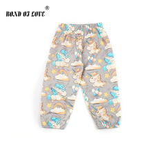 Newborn Boy Girl Pants unicorn Cloud Printed Loose Baby Children Toddler Full Cotton Length Casual Clothing For Kids