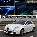 Для Alfa Romeo Giulietta 940 AR внутренний окружающий свет тюнинг атмосфера волоконно-оптический ленточный светильник Дверная панель Подсветка Ремонт