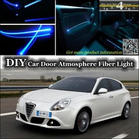 For Alfa Romeo Giulietta 940 AR interior Ambient Light Tuning Atmosphere Fiber Optic Band Lights Door Panel illumination Refit