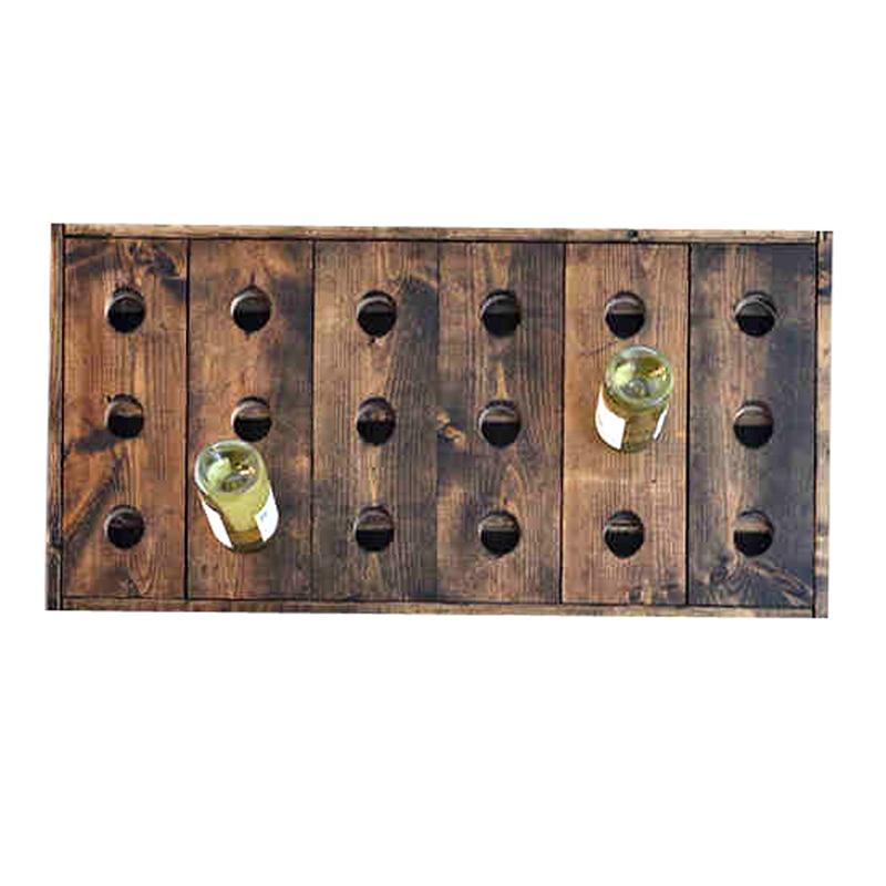 solid wood walnut bar wall wine rack wood wall wine rack wine bar nordic american country