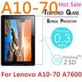 """Para Lenovo A10-70 A7600 10.1 """"9 H 2.5D 0.3mm Templado A Prueba de Explosiones de Vidrio Templado LCD Claro de la Película Protector de pantalla Protector de la Cubierta"""