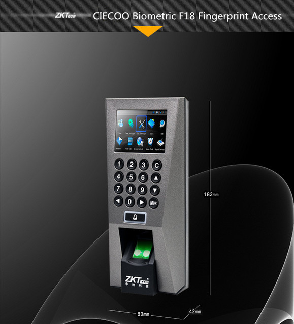 Aliexpress.com : Buy multi language F18 Biometric Fingerprint Access ...