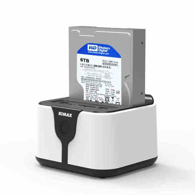 """2.5 """"/3.5"""" USB3.0 a SATA HDD estación de Acoplamiento con la función de Router wifi NAS soporte 6 Tb hdd apoyo SD lector de tarjetas TF"""