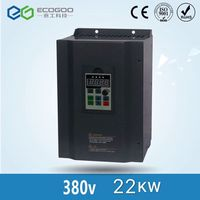 frequency Inverter 22kw 380V 45A variable frequency drive inverter 3 phase input 3 phase output motor speed controller vfd