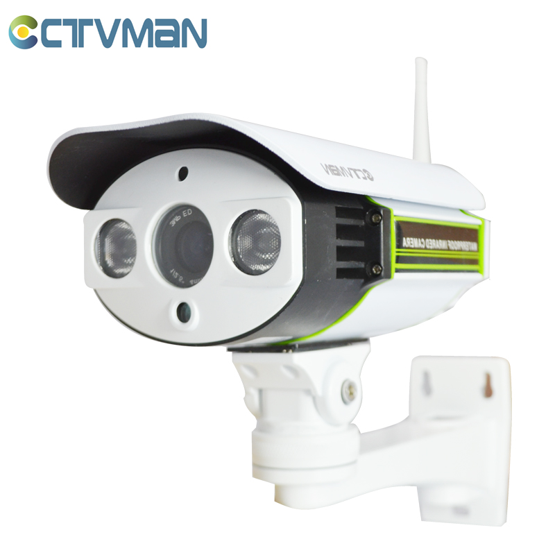 CTVMAN Wireless IP Camera 720P Outdoor Full HD 1.0 Megapixel With Audio Pick-Up SD Card Slot Onvif P2P WIFI Security Kameras team up 3 sb reader with audio cd