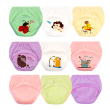 hot deal buy baby panties training underwear toddler boys girls cartoon baby cotton briefs 0-6y underwear kids panties girls supnekua panties