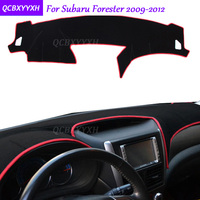 For Subaru Forester 2009 2012 Dashboard Mat Protective Interior Photophobism Pad Shade Cushion Car Styling Auto