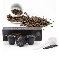 4pcs Pack Refillable Nespresso Capsule Compatible With Nespresso Coffee Machine Capsulas Refill Refillable Capsules Pods