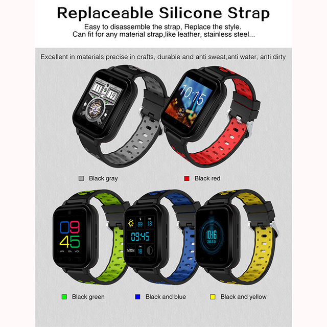 MTK6737 Quad Core Smart Watch / 4G LTE 4