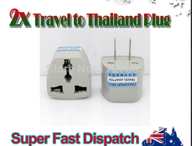 1 X Power Plug Hk Us Australia Travel To China Japan