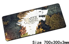 Game of Thrones mouse pad 700x300x3mm pad mouse notbook computer padmouse hot sales gaming mousepad gamer to laptop mouse mats