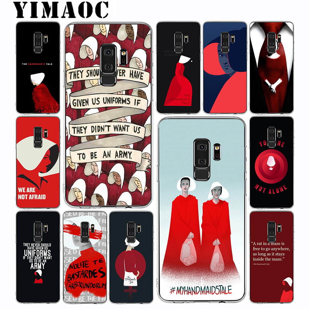 YIMAOC Handmaid Is Tale Soft Silicone Case For Samsung Galaxy S10 S10E S9 S8 Plus S7 S6 Edge & Note 9 8 Soft Cover