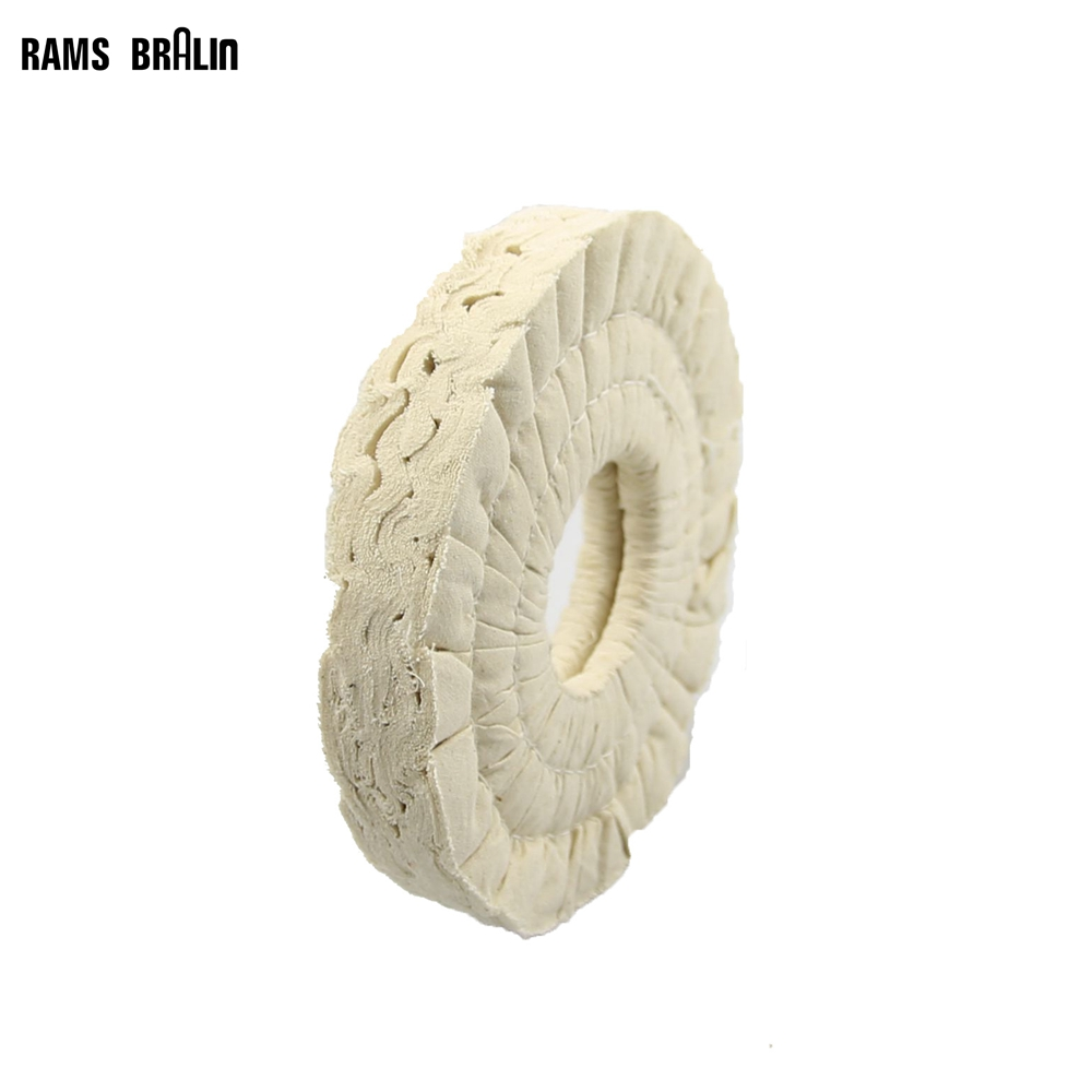 1 Pcs 150*20*50mm Cotton Airway Buffing Wheel For Edge Bonding Machine Woodworking Machinery