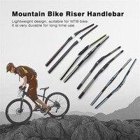 76cm Lightweight MTB Mountain Bike Riser Handlebar Durable Carbon Fiber Replacement Handle Tubes Handlebar Bike Bar