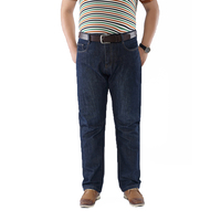 50 52 Big Size Fashion Casual Male Denim Pants Biker Jean Hot Sale Trousers Cotton Classic