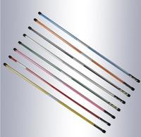 Golf Direction Stick 2pcs Set Golf Alignment Sticks Swing Plane Tour Training Aid Golf Practice Rods
