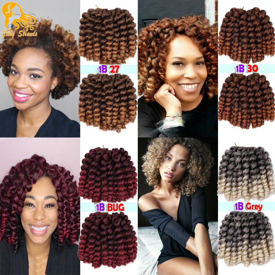 Jamaica Hair Color: 9Colors Bounce Wand Curls Jamaican Twist Freetress Loose