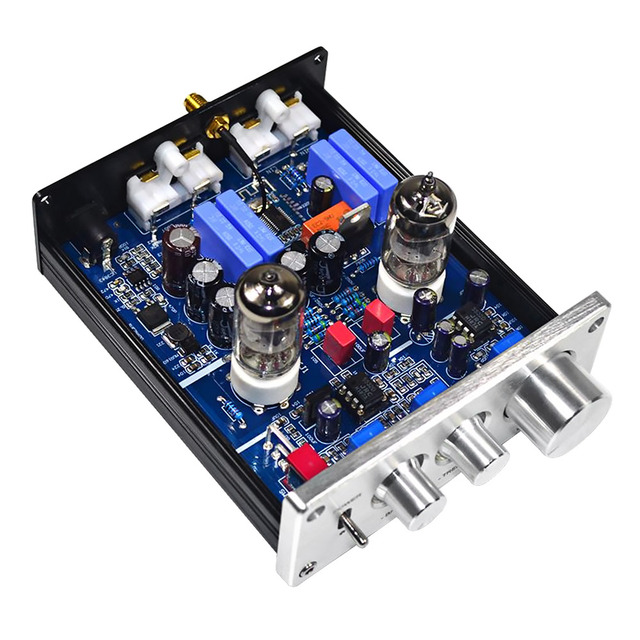 AIYIMA Bluetooth 4.2 Buffer HiFi 6J1 Tube Preamp Amplifier Stereo Preamplifier With Treble Bass Tone Control For Home Theater