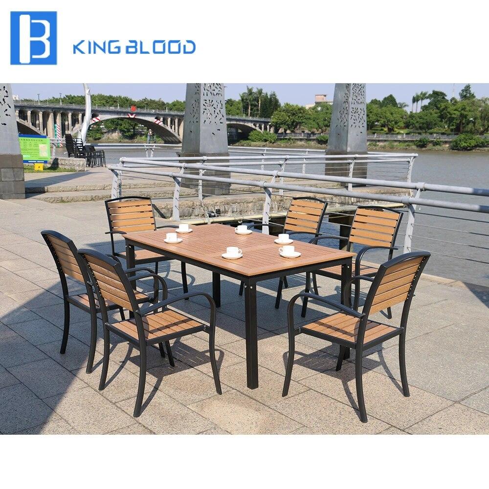 US $8.8 Outdoor Furniture Wooden Garden Patio SetOutdoor Tables -  AliExpress
