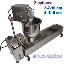 $DOOR TO DOOR    3 moulds Automatic donut maker machine , small power (2000w)  donut maker machine недорого