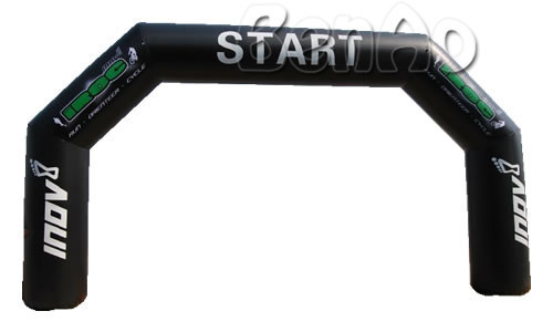 R042 The most attractive Airtight inflatable arch, inflatable event archway, inflatable finish line,including air pump
