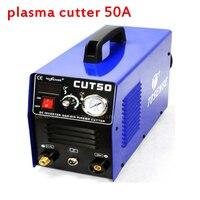 Плазменной резки 50A CUT50 Инвертор постоянного тока воздуха Plasma Cutter с бесплатной сварки аксессуары 220 В/110 В