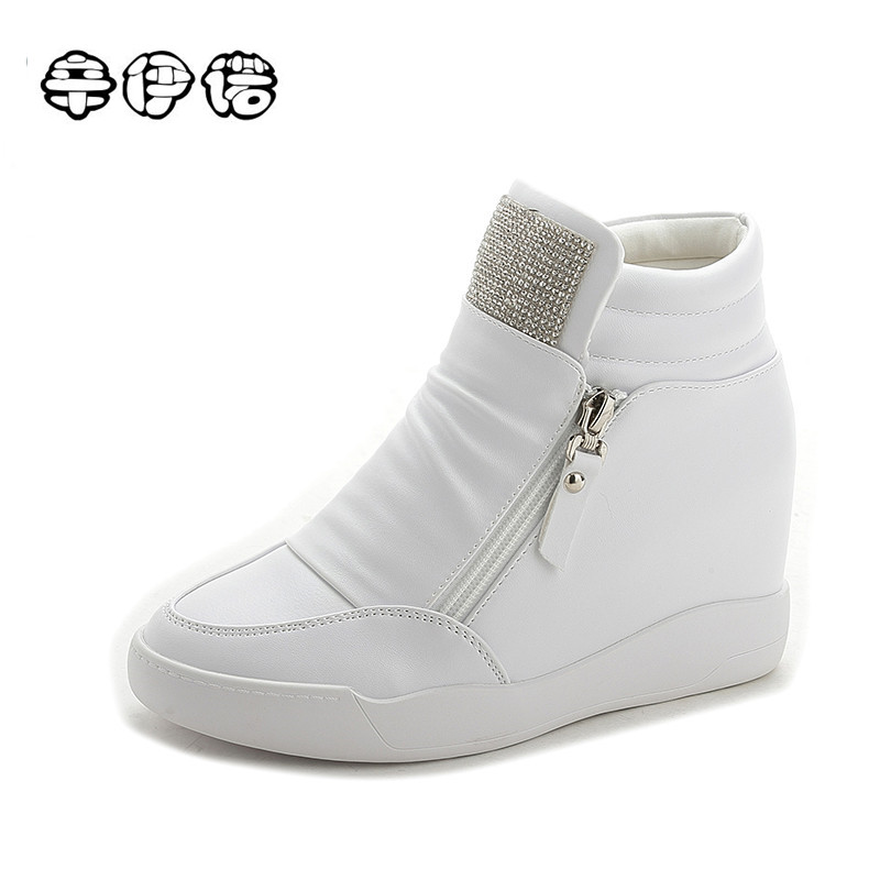 2017 Hot Sale New Wedge Shoes Hidden Heels Women's ...