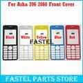 Для Nokia 206 2060 ЧЕРНЫЙ Высокое Качество Новый Полный Полный Мобильный Телефон Жилищно Лицевая Обложка Чехол Бесплатная доставка