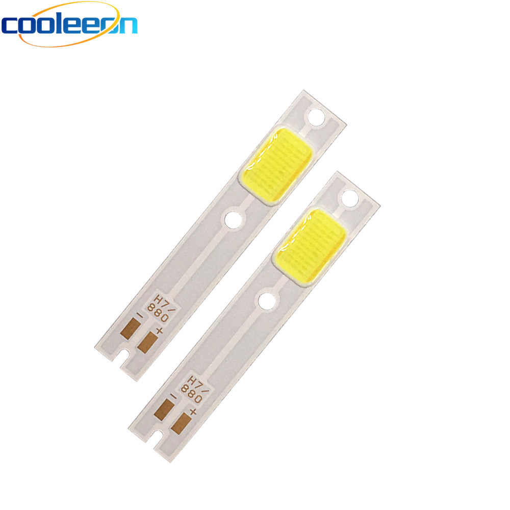 2pcs/lot  C6 Car Headlight Bulbs COB LED Chip On Board Light Source H1 H3 H4 H7 H11 9004 9005 9006 9012 880 Headlamp COB Lamps