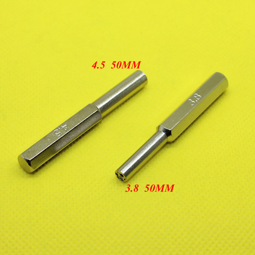 YX 018  2Sets 3.8mm+4.5mm 50mm Security Screwdriver Tool Bit For Nintendo NES SNES N64 Game Boy