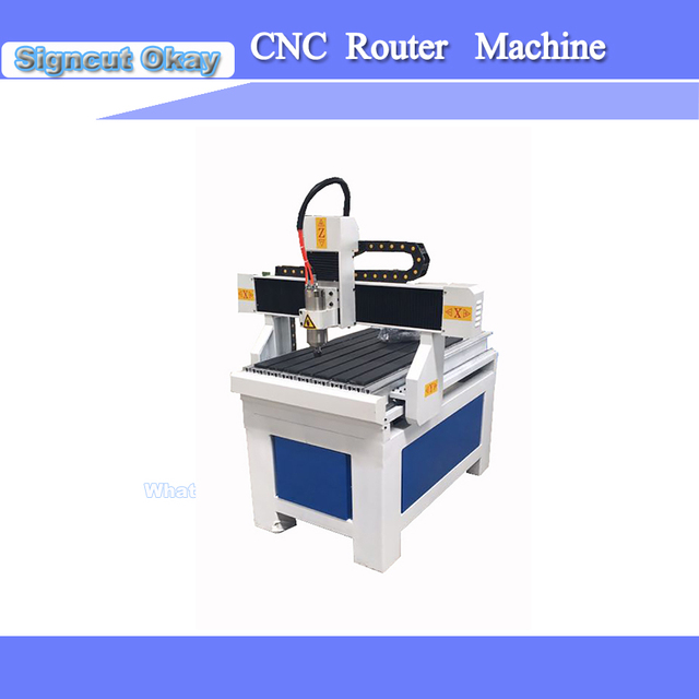 New 1.5/2.2 KW water cooled spindle motor Woodworking Machine CNC Router 6090 High Quality for Woodworking