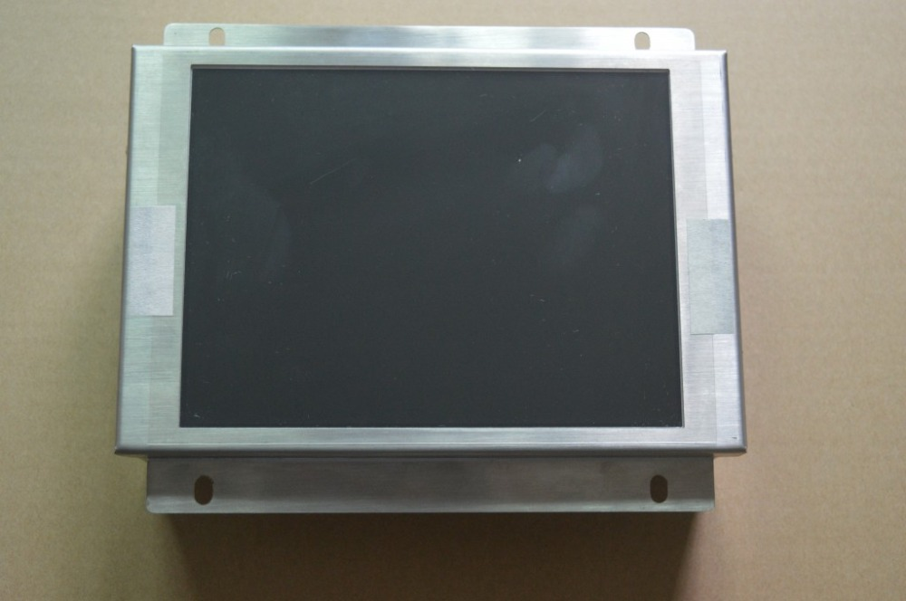 A61L-0001-0076 compatible LCD display 9 inch for CNC machine replace CRT monitor, HAVE IN STOCK mdt947b 2b a61l 0001 0093 9 replacement lcd monitor replace fanuc cnc system crt