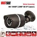 1920*1080 mini câmera IP POE ao ar livre IP66 ONVIF Night Vision P2P IP Cam HD lente Bala câmeras de Segurança CCTV seguranca