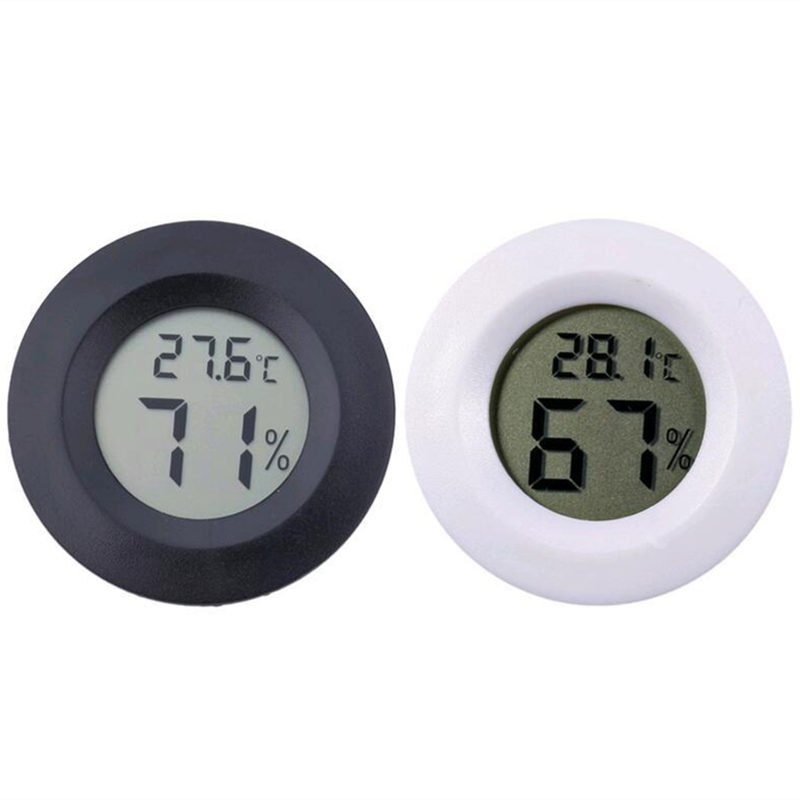 Mini LCD Digital Thermometer Hygrometer Tester Temperature Humidity Detector Baby Environmental Measuring