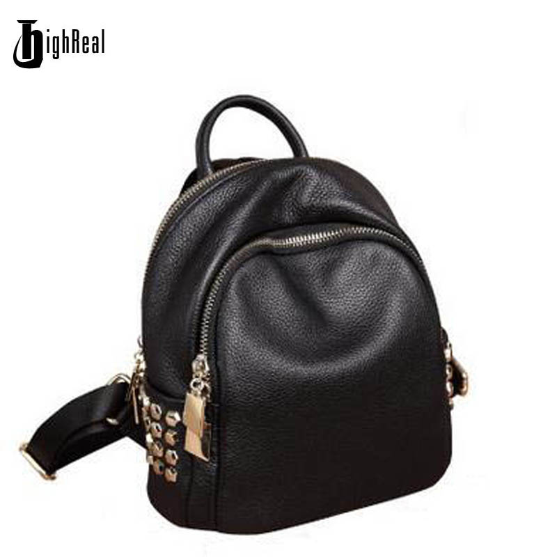 Simple Korean Style Women Backpack College Student High School Bags for Ladies Girl Teenager Back pack