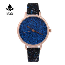 BGG clássico Marca De Luxo Relógio de Quartzo com Pulseira De Couro Macio Mulheres Relógios Sem Números Relógio Ocasional Relogio feminino 2016 Mulheres Presentes