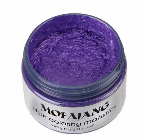 Hair Color Wax Cream - Temporary Hair Color changer Wax cream 5