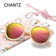 Качественные Модные Детские поляризованные солнцезащитные очки для мальчиков и девочек, куртка из детские солнцезащитные очки UV400 Óculos De Sol Infantil