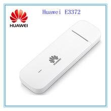 Desbloqueado huawei e3372 E3372h-153 4g lte usb dongle usb vara datacard móvel de banda larga usb modems 4g modem E3372s-153 E3372h-607