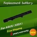 JIGU 14.8 В 2600 МАЧ Батареи Ноутбука A41N1308 A31N1319 0B110-00250100 Для Asus X451 X551 X451C X451CA X551C X551CA Серии