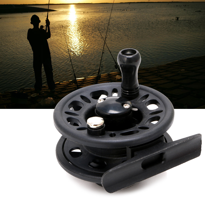 65g Fly Fish Reel Former 1BB Ball Bearing Fish Reel Rafting Ice Fishing Wheel-2F