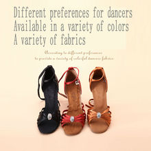 Latin Dance Shoes Modern Woman Fitness Breathable Ladies Aerobics Shoes Sneakers Appliques Brown High Quality Coupons  BD2311