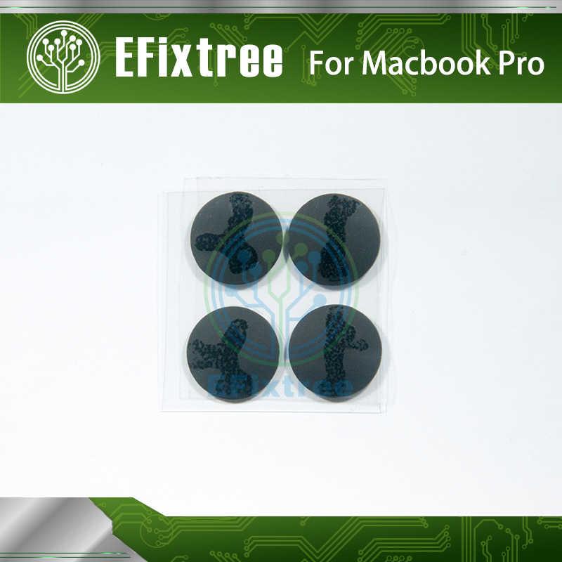 "4 Pcs/set Asli Baru Laptop Bagian Bawah Karet Case Penutup Kaki Kit untuk MacBook Pro A1278 A1286 A1297 13"" 15 ""17"""