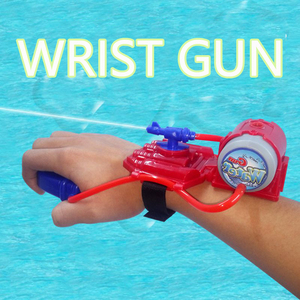 Creative wrist-style water toys summer children's play water toys beach parent-child interaction mini hand-held water gun