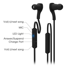 New BT-H06 Bluetooth Earphone and ear-phone Stereo Wireless Sport Headset Earhook Earbud with Mic For iPhone For Samsung