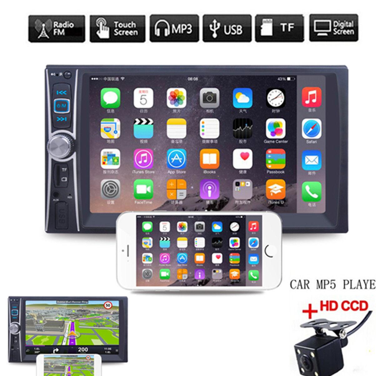 6,6 дюймов FM/USB/AUX сенсорный экран автомобиля MP5 плеер универсальный MP5 Muisic плеер Авто MP5 плеер Bluetooth MP5 плеер горячая распродажа